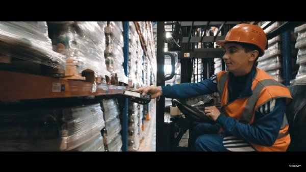 CipherLab RK25 And 1C-Rarus's WMS Software Help Automate Finished Goods Warehouse at Balakovsky Brewery